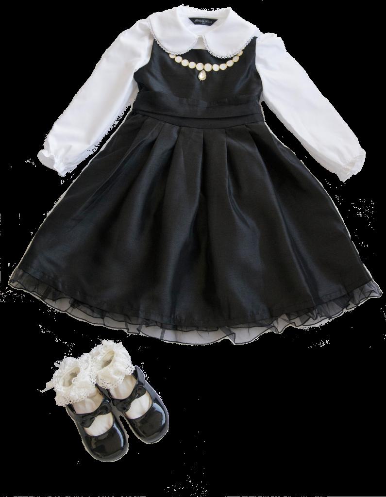 ブラックドレス着回しコーデ